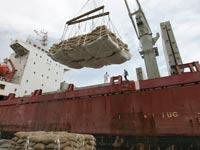 סחורה סחורות ספינה יבוא יצוא / צלם: רויטרס